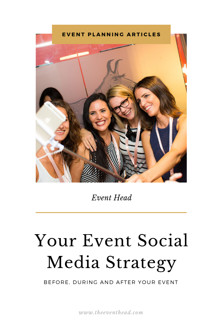 your event social media strategy
