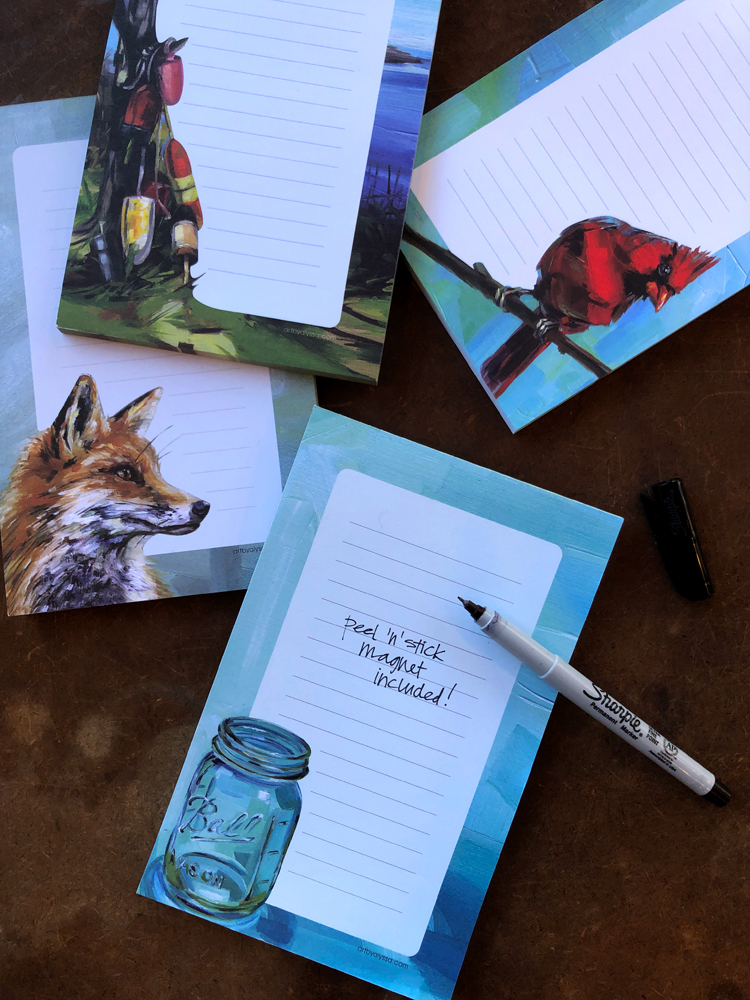 - notepads