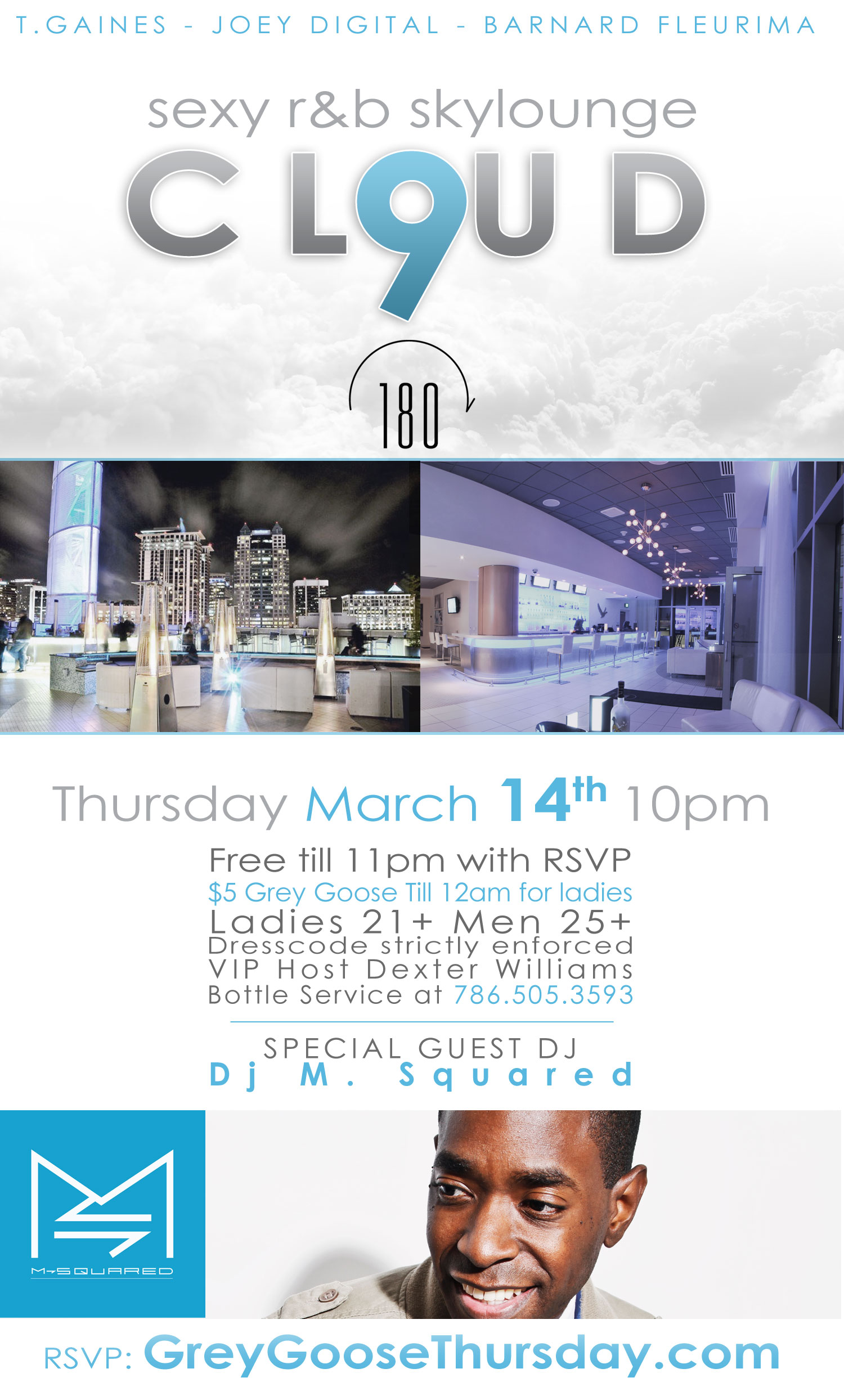 ORLANDO! Join Me This Thursday Night, doing a Special Guest DJ Set at the 180 Grey Goose Lounge at the Amway Center!  Big up Grey Goose Vodka - Tgaines Entertainment - Joey Digital & Barnard Fleurima -Design the Mood-