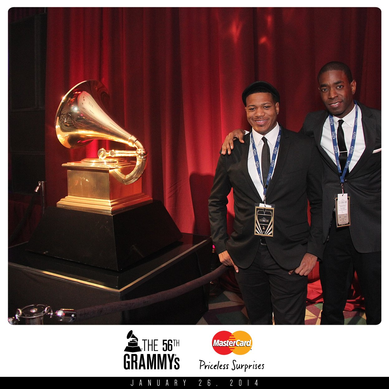 M-Squared w/ Lechon Kirb at the 56th Grammy Awards!