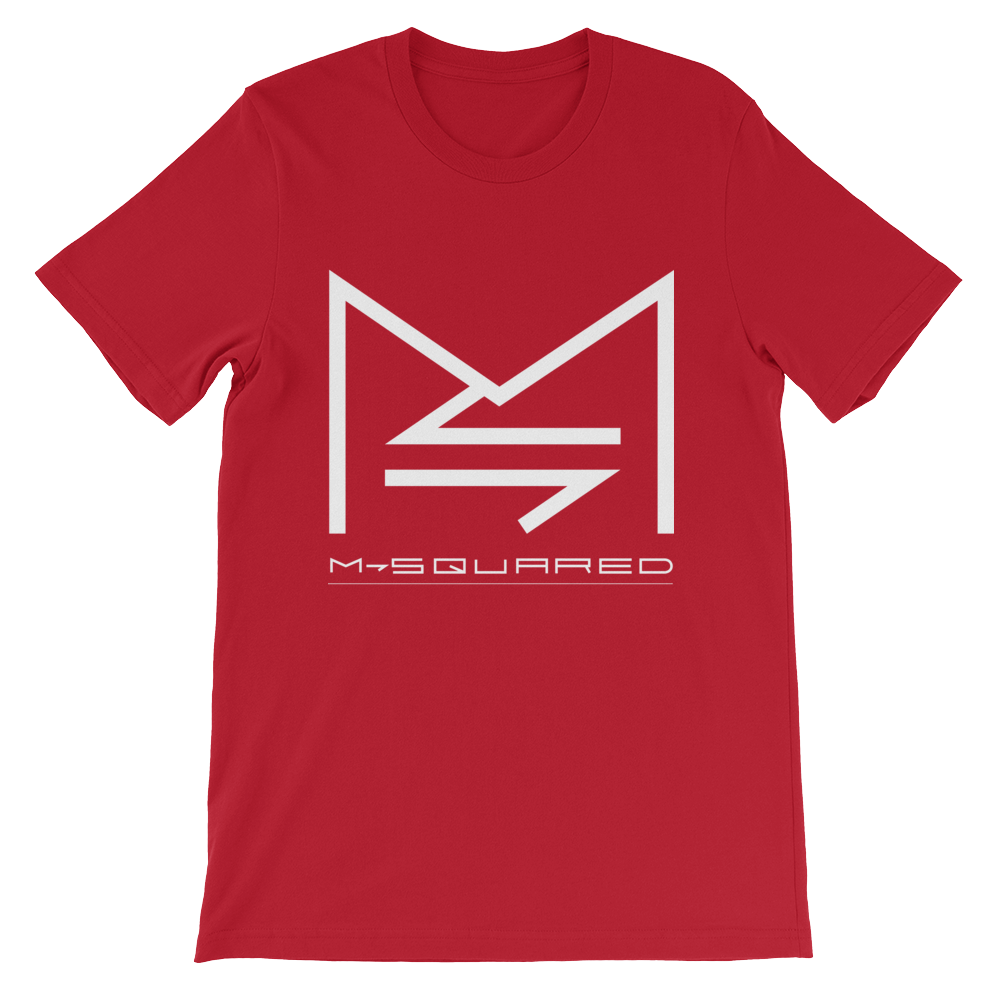 M-SQUARED ICON T-SHIRT (RED)