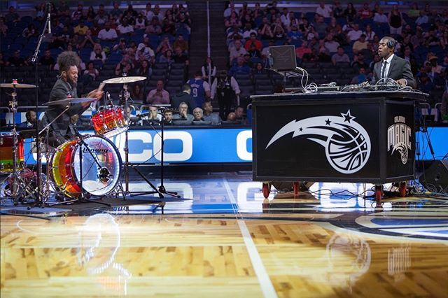 THANK YOU for your support! SEE our full live performance now from the @orlandomagic official  @nba Halftime Show and Subscribe to our new @youtube channel LINK IN BIO 🎥🔉 @mooddesigners  #MoodDesigners