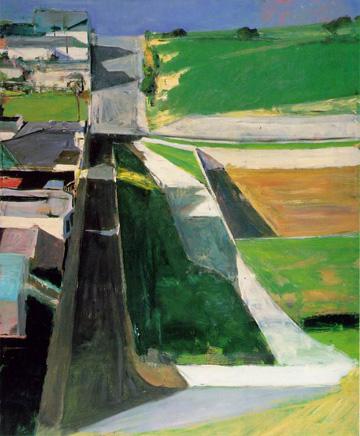 Cityscape #1, 1963 Richard Diebenkorn