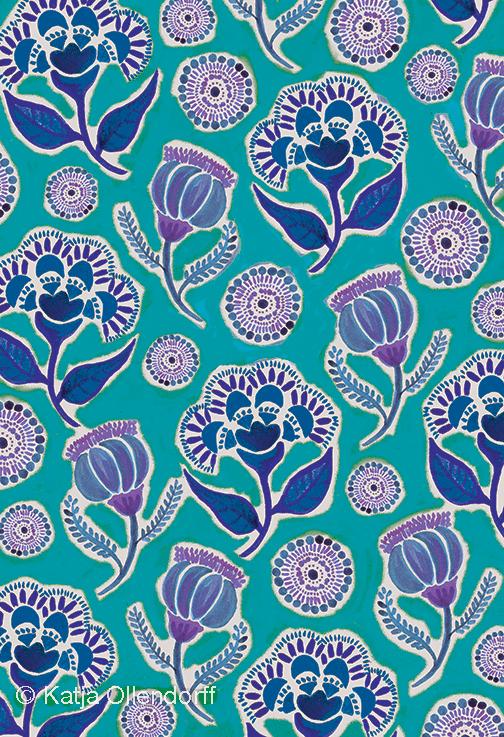 Katja | Folkfield Blue