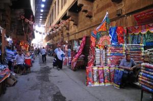 The Khayamia district in Cairo during Ramadan. (DNE/ Hassan Ibrahim)