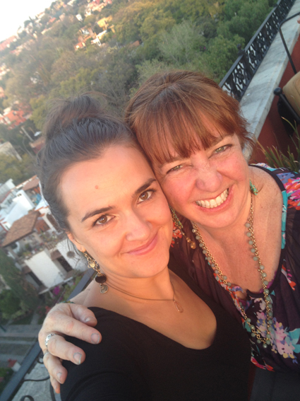 My darling roommate &photo-taking partner in crime, Yolande, from South Africa