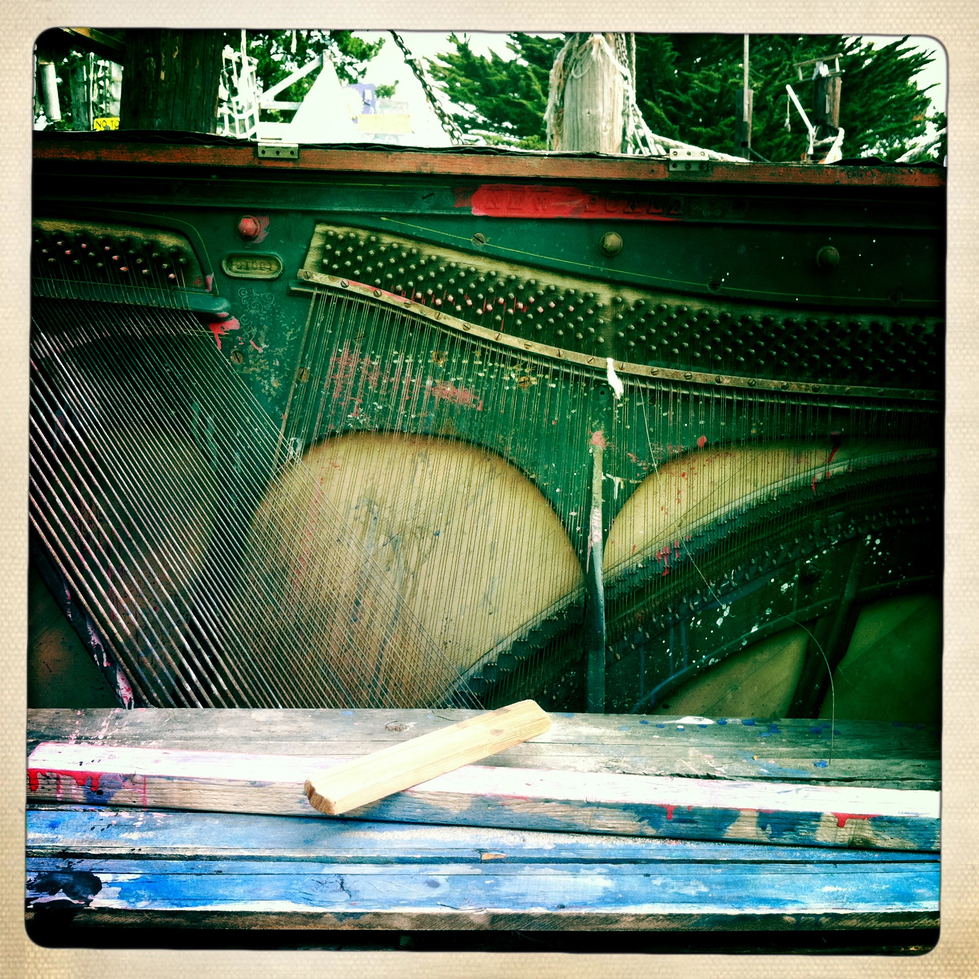 Adventure Playground Piano ©Lisa Berman