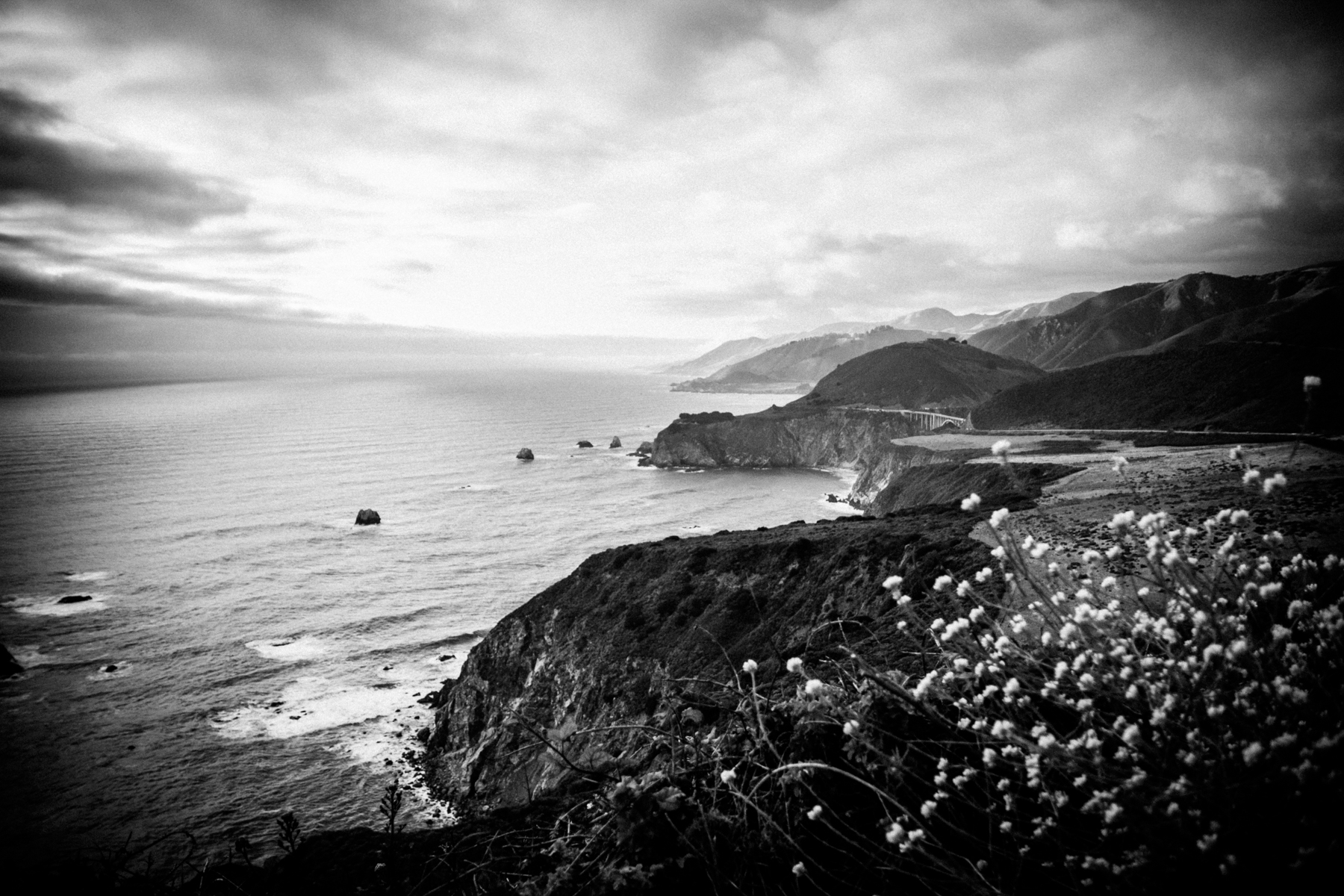My old home_Bixby, Big Sur ©2018 Lisa Berman