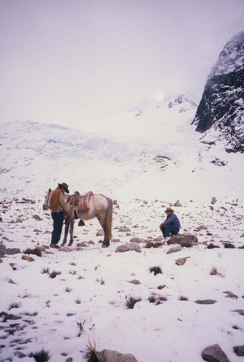 Salkantay Trail ©1987 Lisa Berman