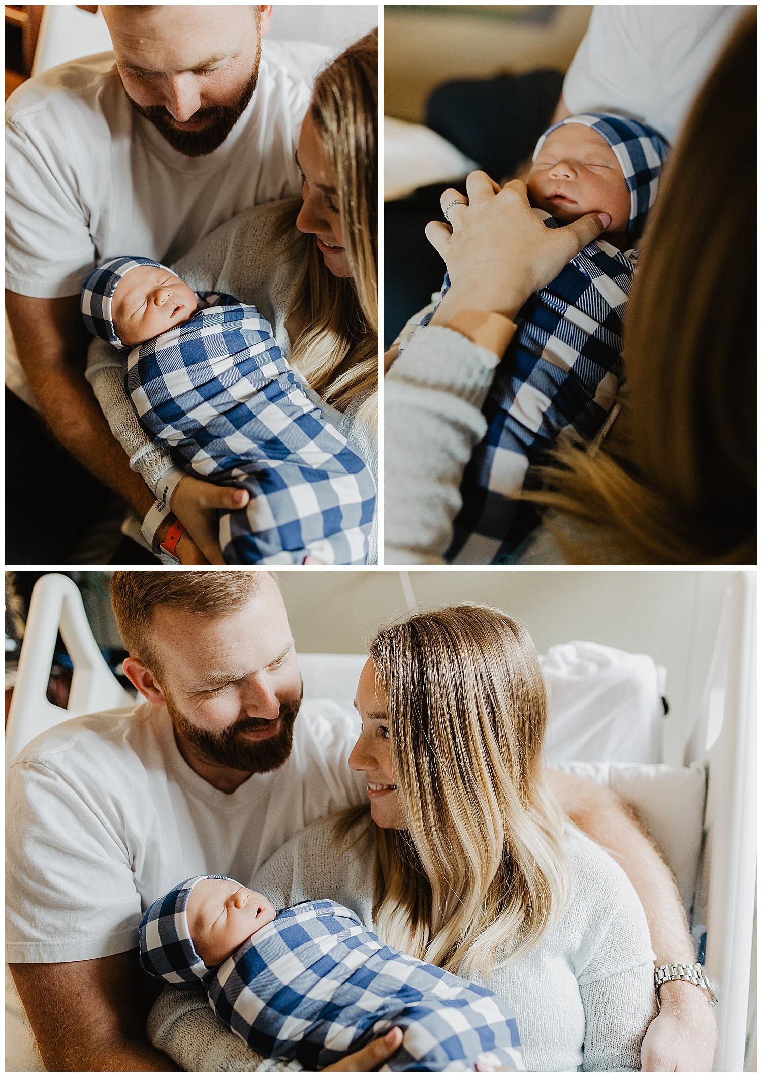 Annapolis, Maryland newborn photography fresh 48 hospital photography