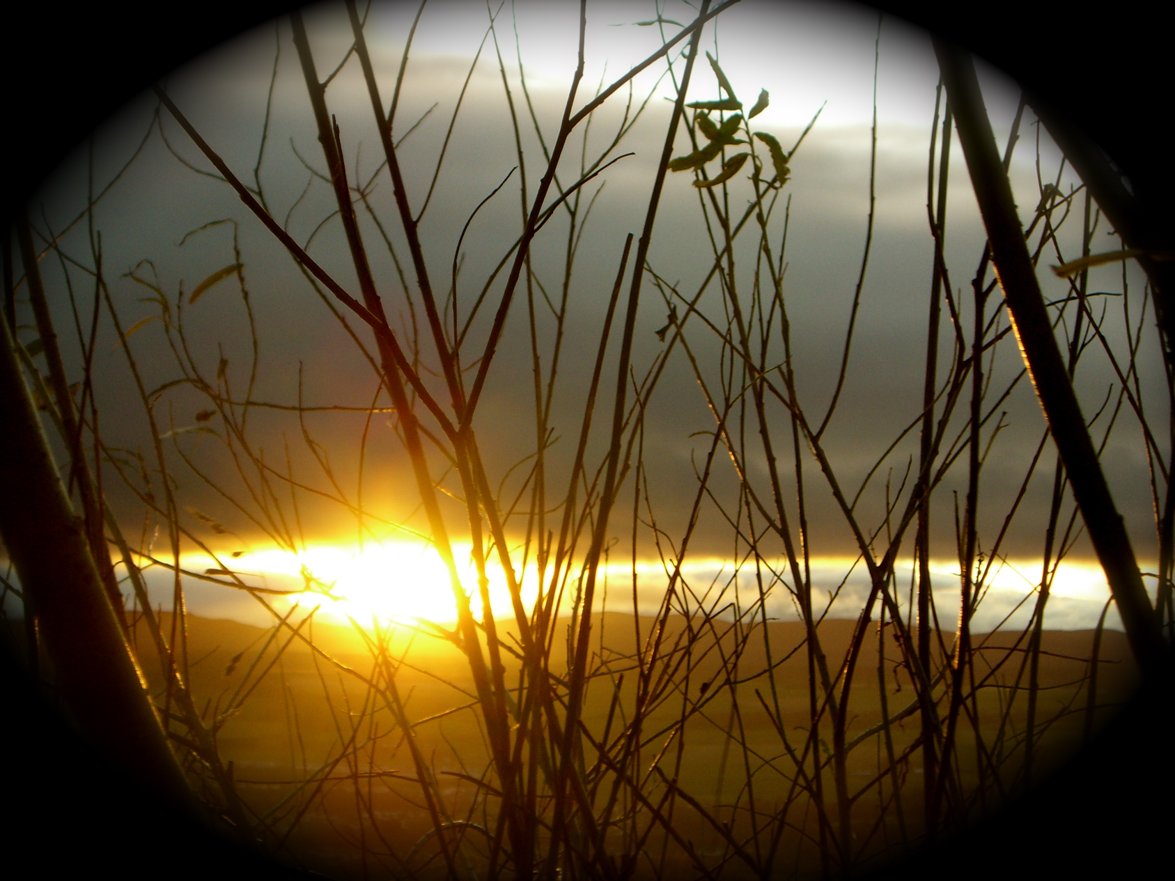 sunrise in Inverness