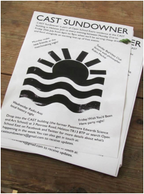 Jonathan Hoskins - CAST Sundowner 2014 flyer