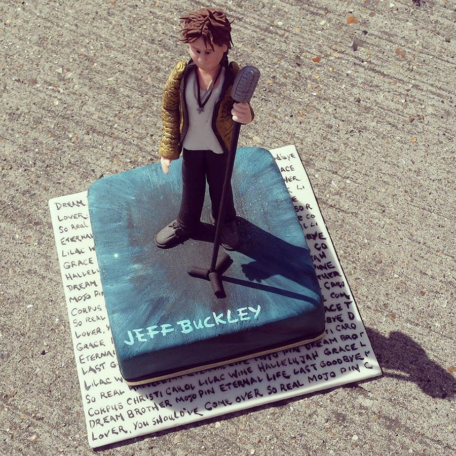 Jeff Buckley Grace Anniversary Cake