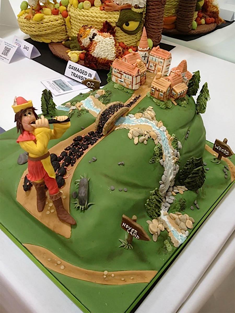 Pied Piper Cake