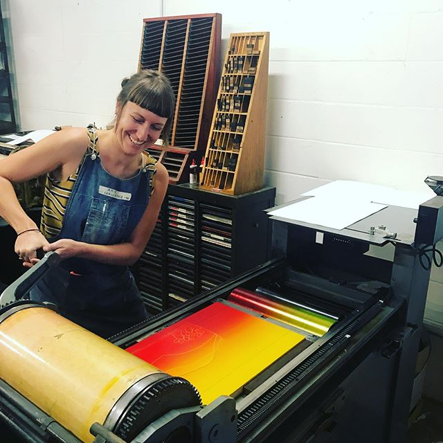What an amazing week in Saint Louis for Print Week and Ladies of Letterpress! Thank you to everyone who made this week happen! @ladiesofltrprs @centralprintstudios  @firecrackerpress THANK YOU!