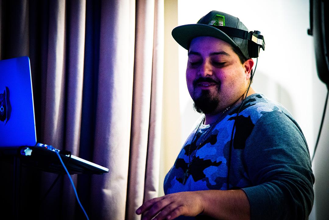 DJ Omar Dijou brings the glitter in his mix.