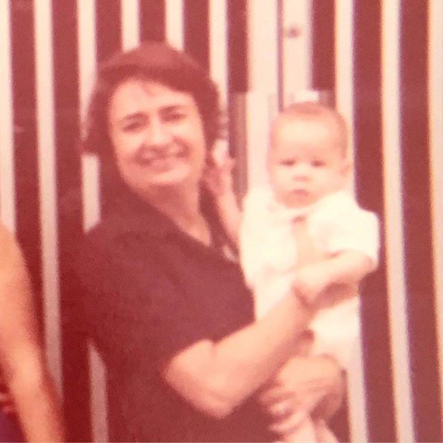 Yo con mi Abuela