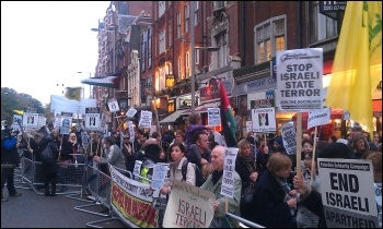Gaza Protest - London November 2012 photo Neil Cafferky