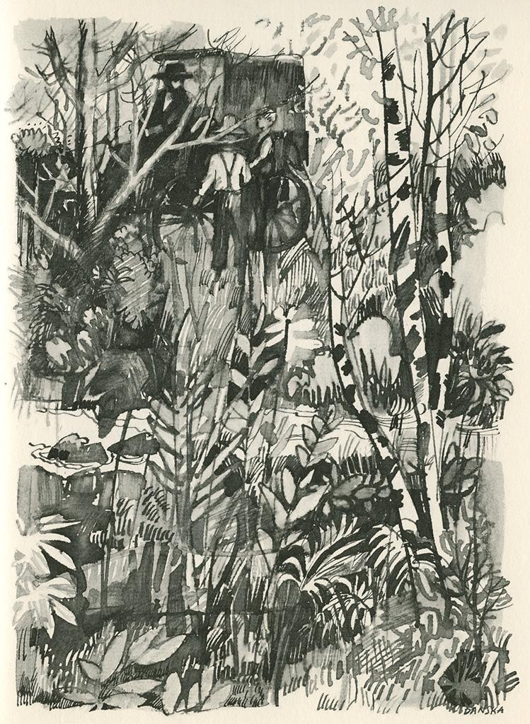 Herbert Danska, from Richter's  Over the Blue Mountain,  1967.