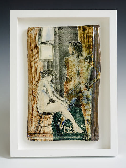 """Paul Jackson, """"Porcelain Plaque"""" from The Nude Series"""