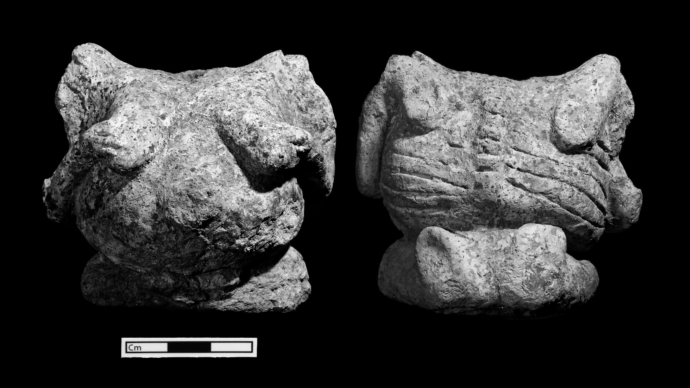 Skeletal female figurine, Çatalhöyük, Turkey.