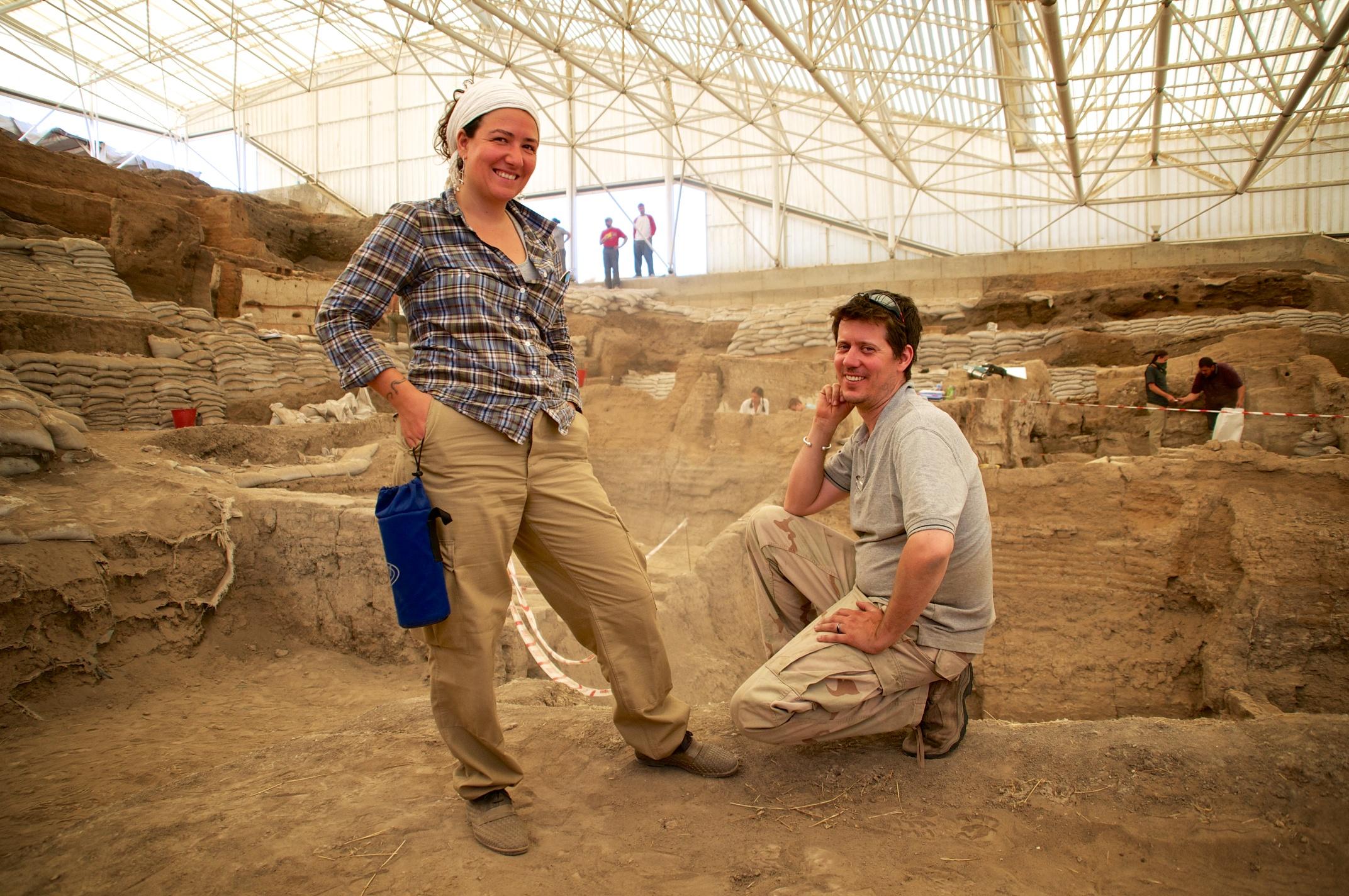 Burcu Tung and James Stuart, excavation directors at Çatalhöyük, gear up for the 2013 season.