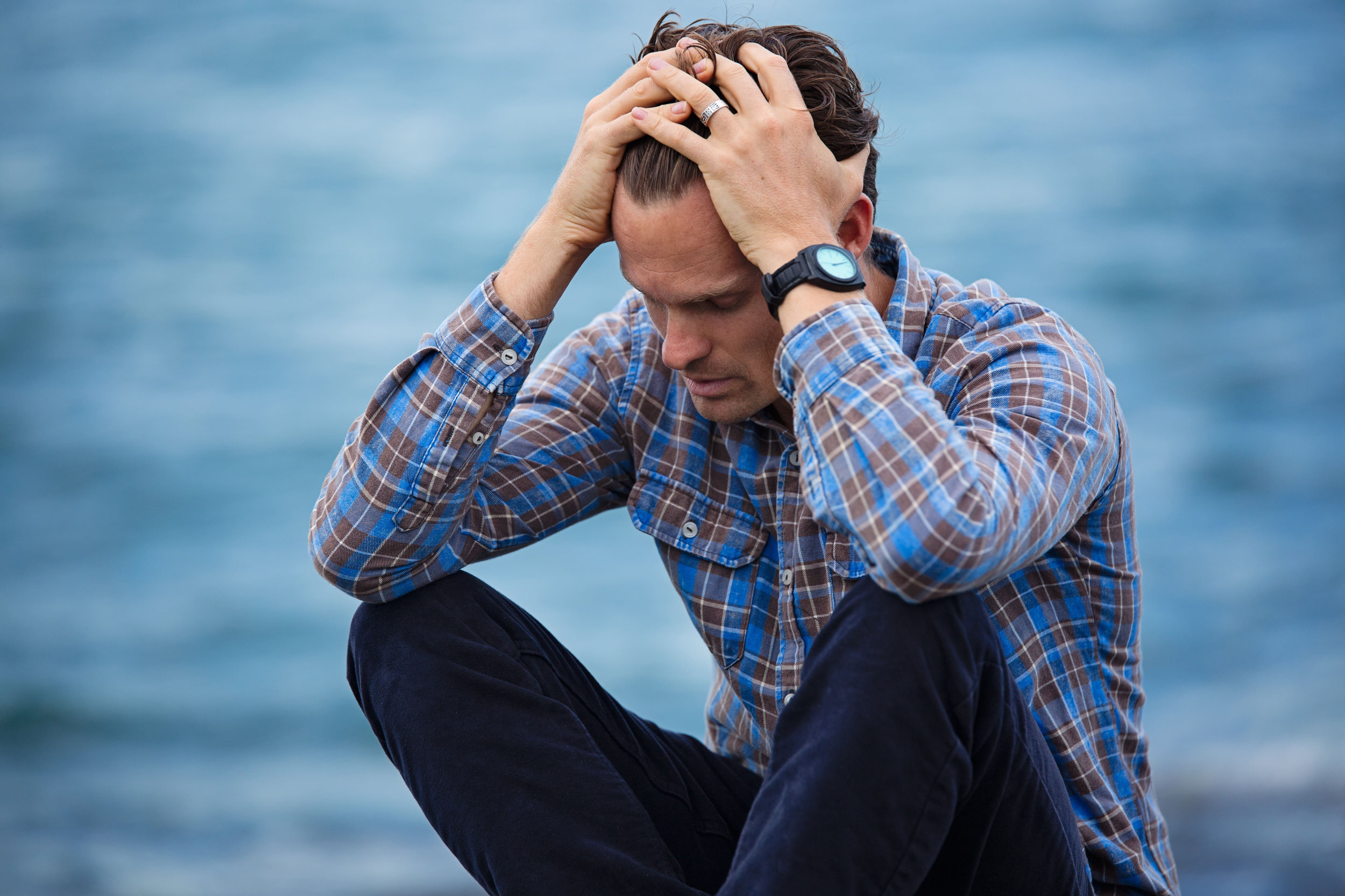 How can I tell if I'm experiencing grief or depression?