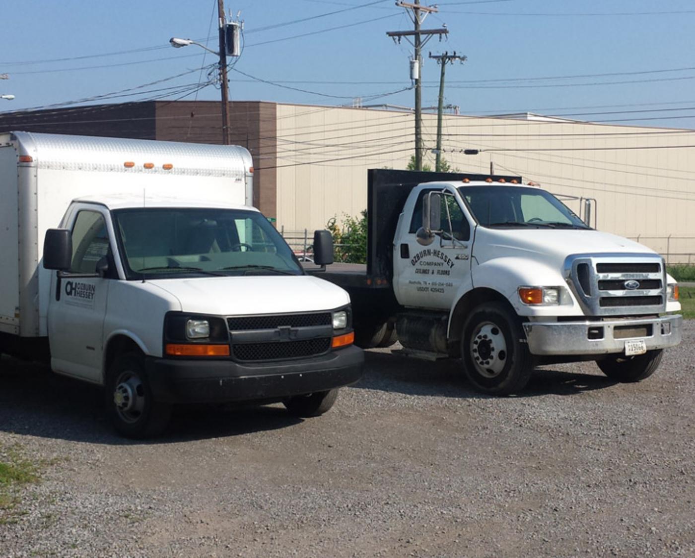 Ozburn Hessey trucks