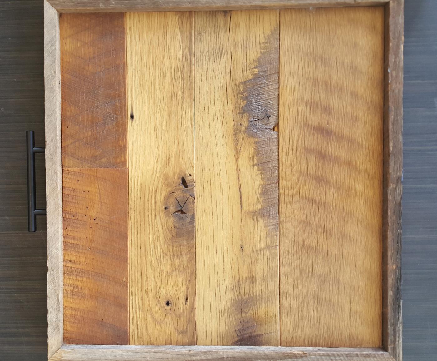 Repurposed hardwood