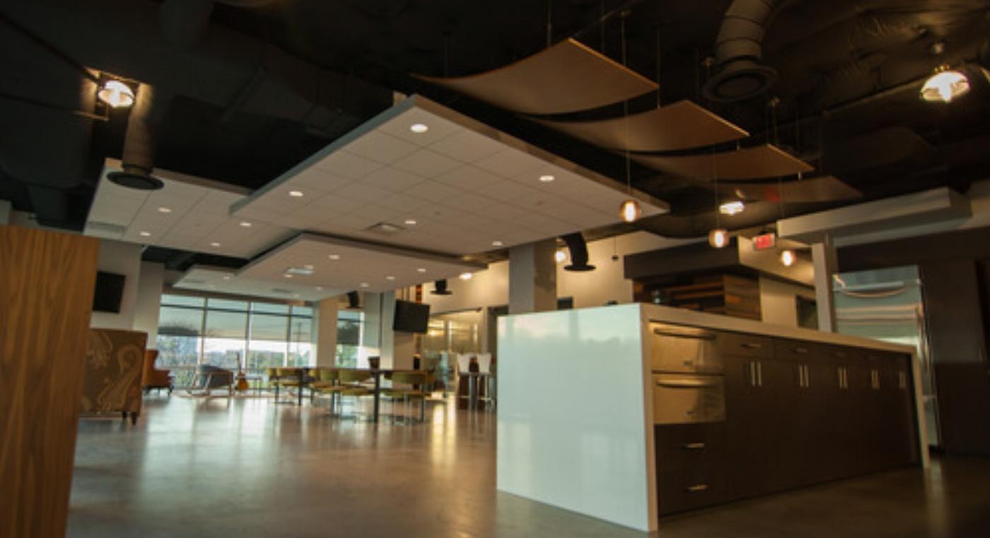 Open Ceilings in Restaurants
