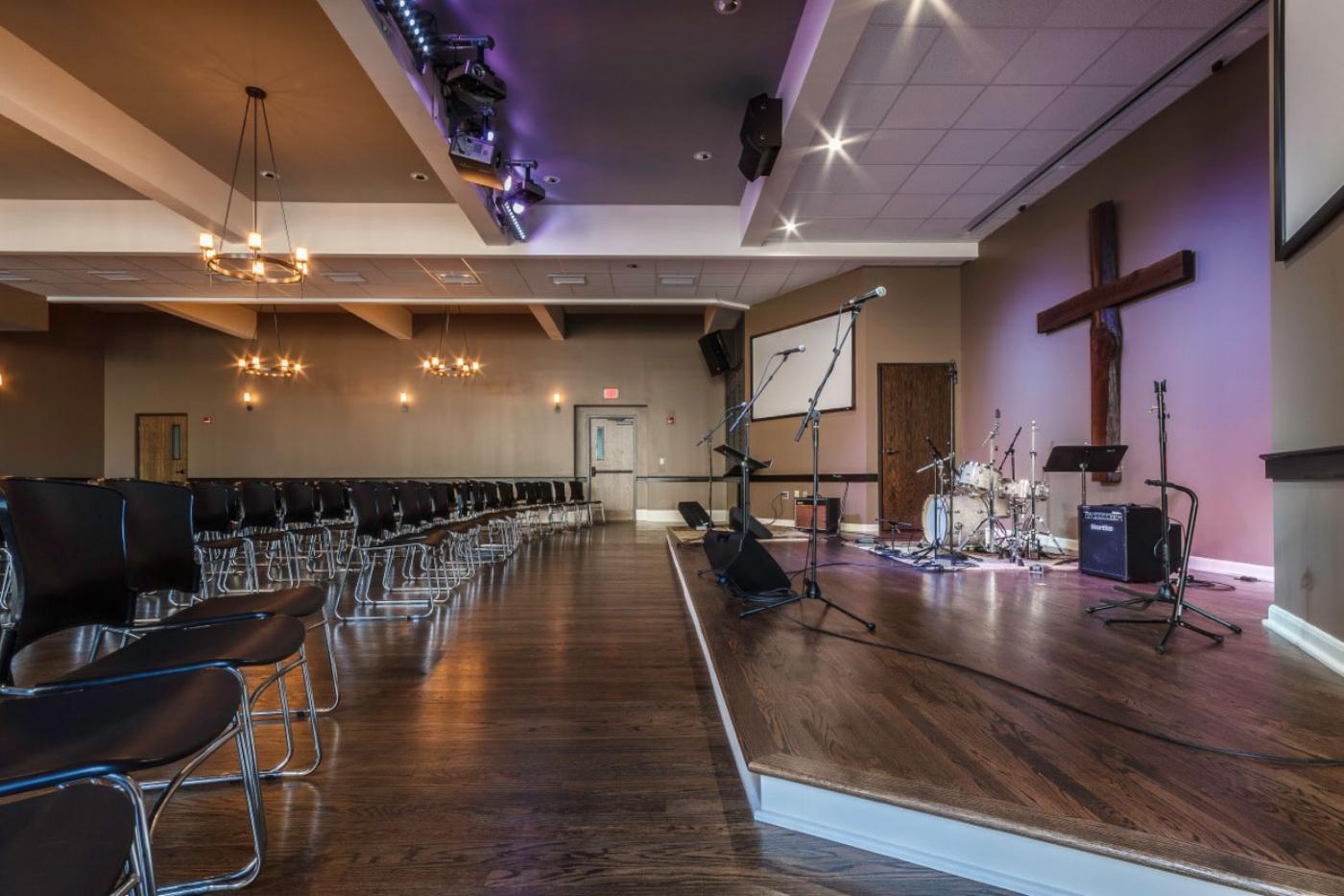 Baptist Church Floor Remodeling