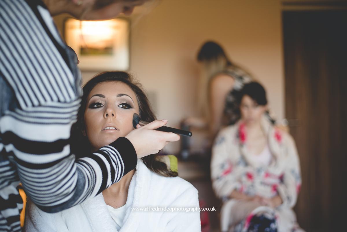 Make up by Jen Ferguson