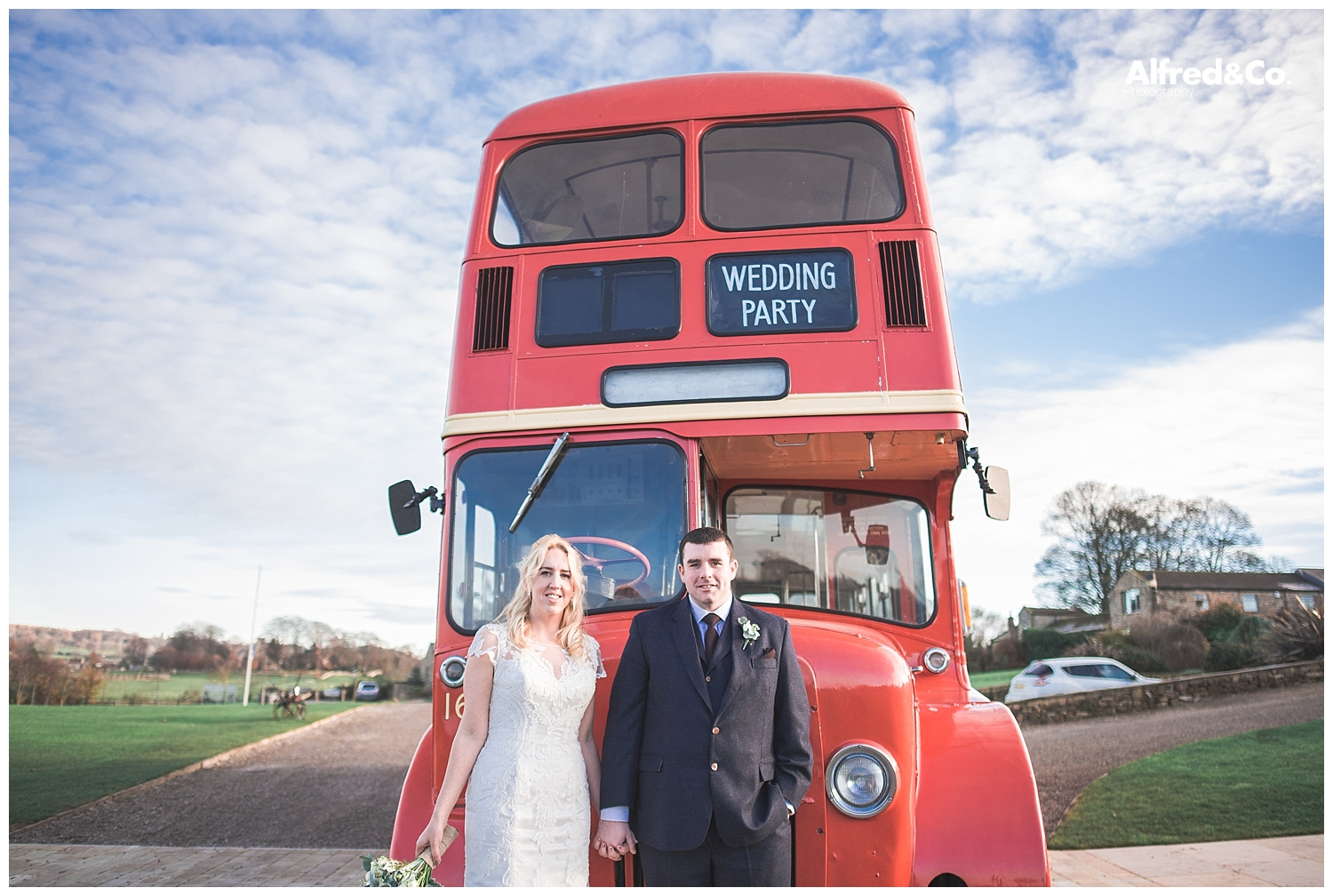 Yorkshire Heritage Red Wedding Bus