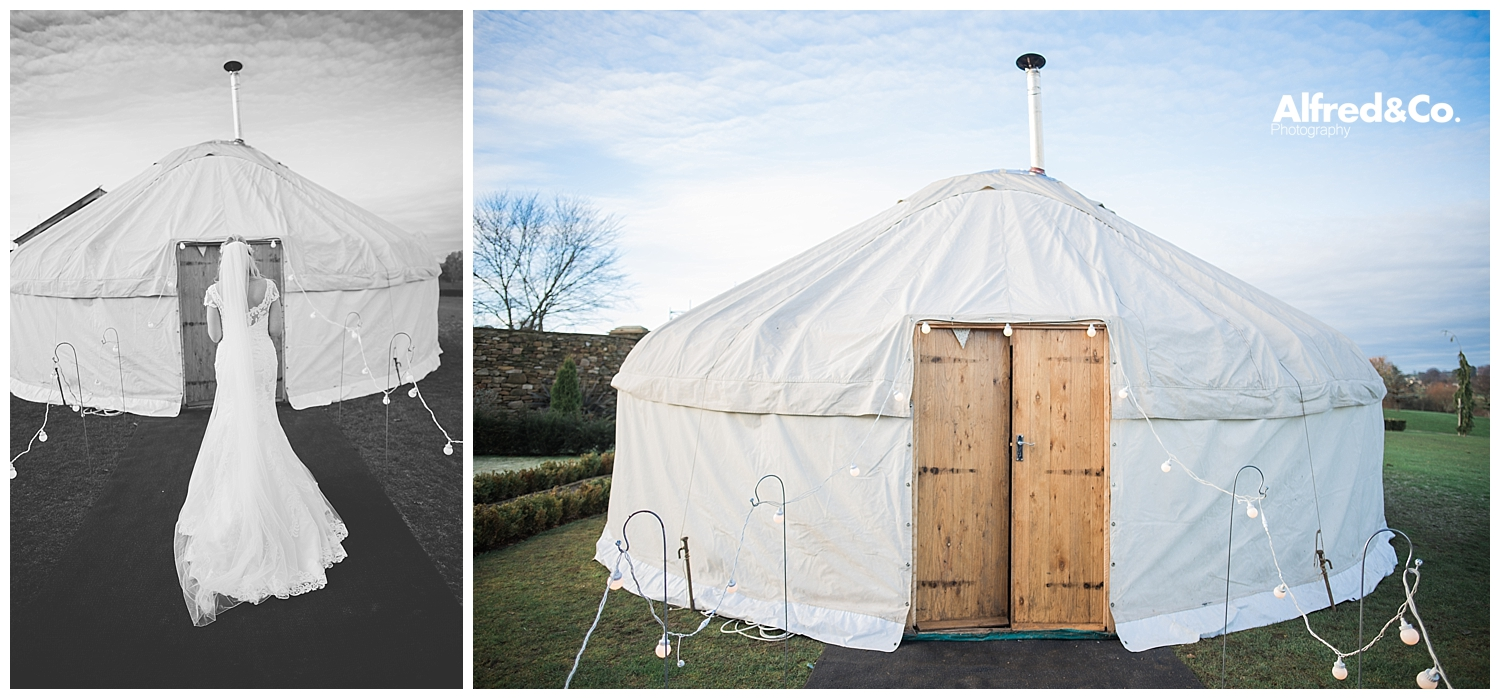 Yorkshire Wedding Yurt