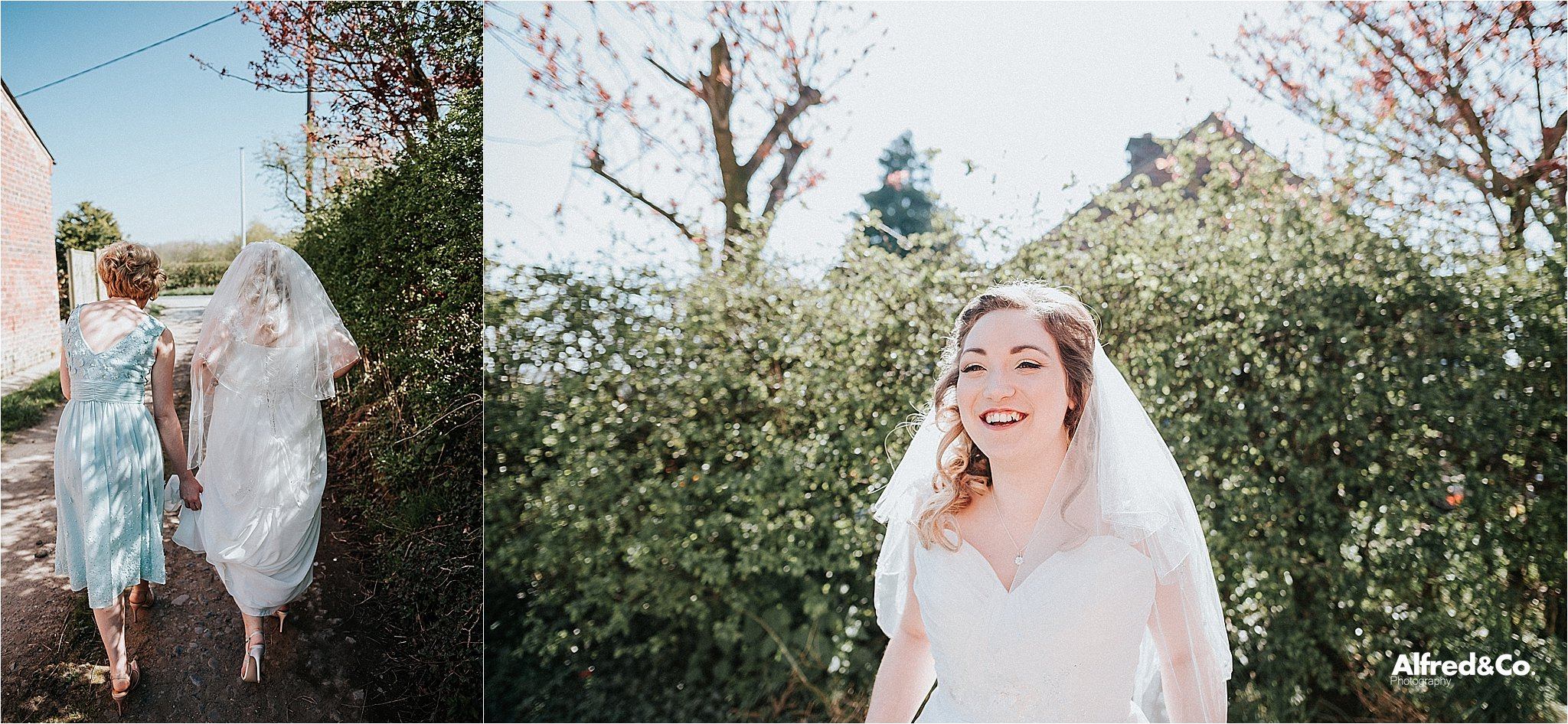 Relaxed wedding photography in lancashire