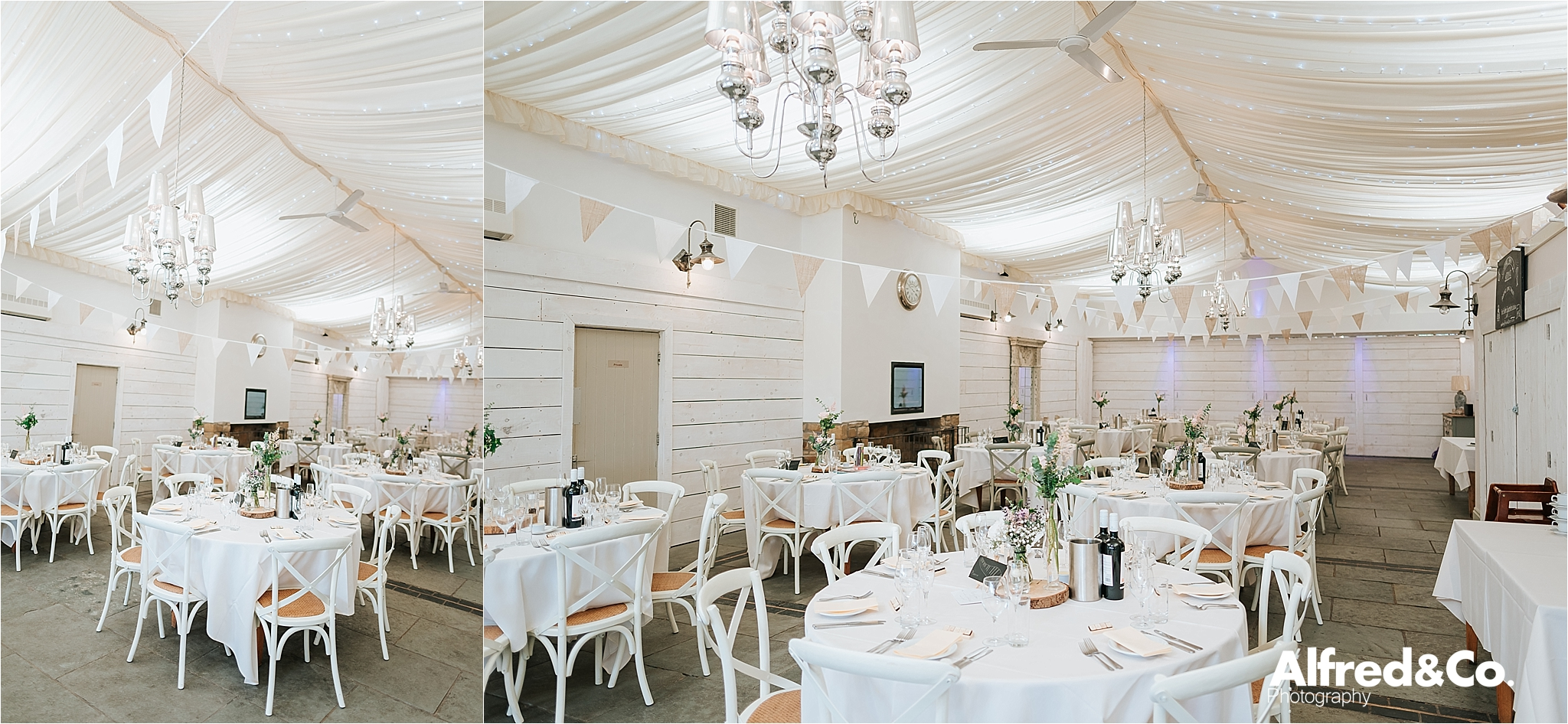 bashall barn summer wedding