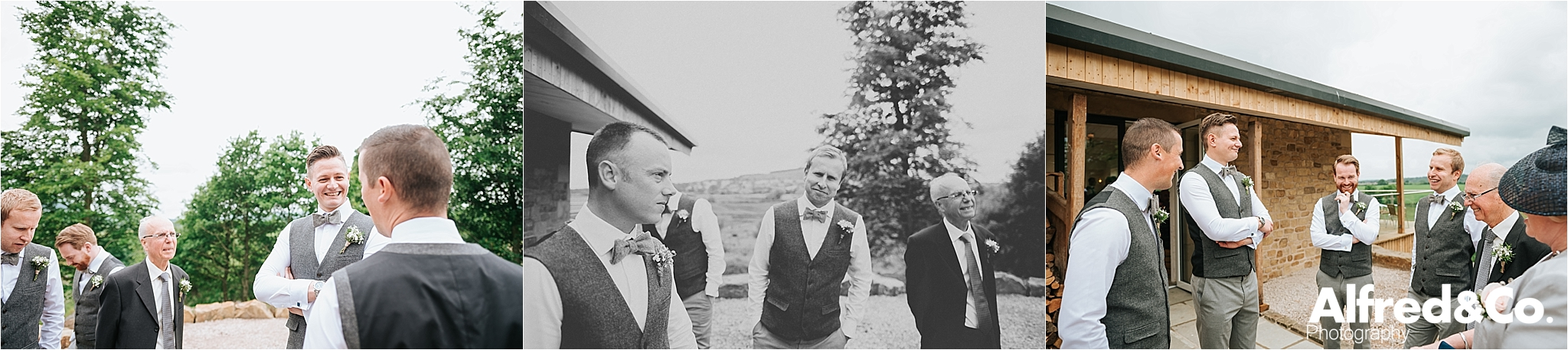 bashall barn wedding in the ribble valley