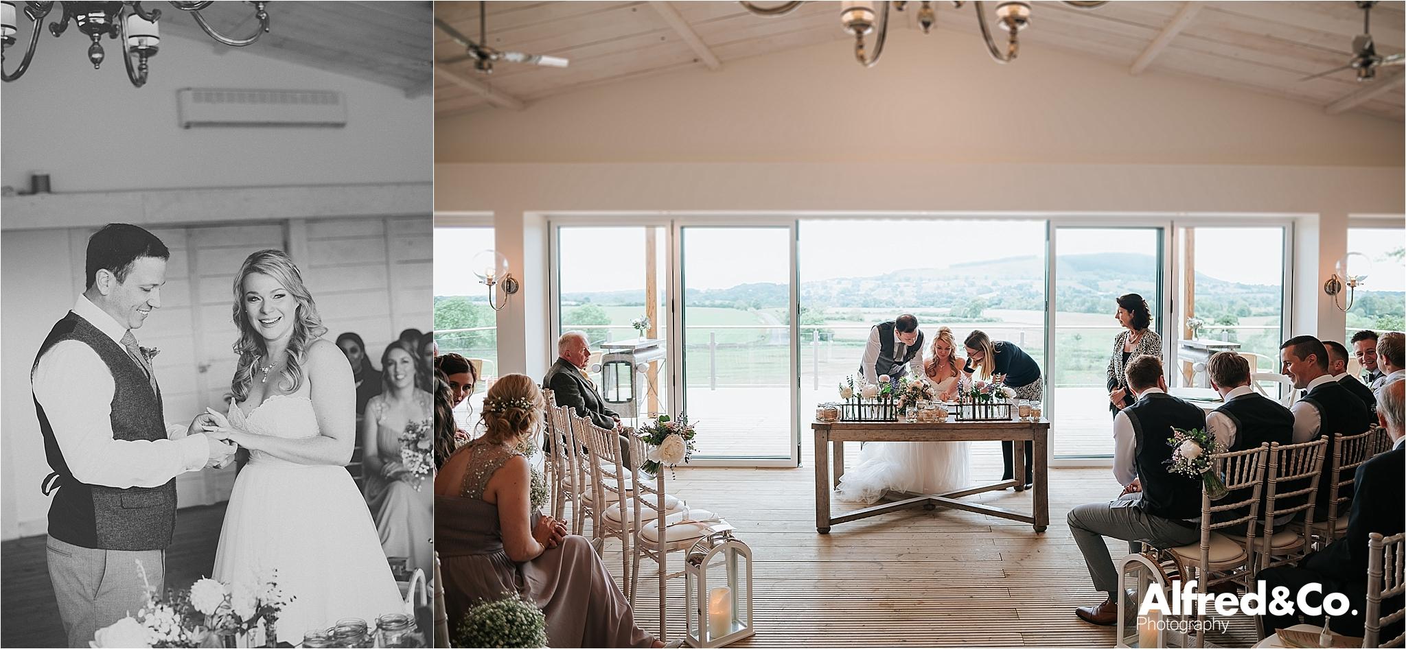 bashall barn wedding venue in clitheroe