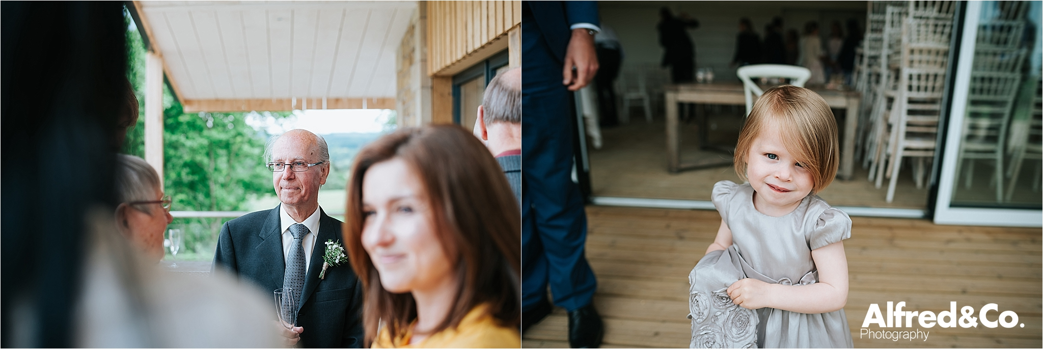 relaxed wedding photography in clitheroe lancashire