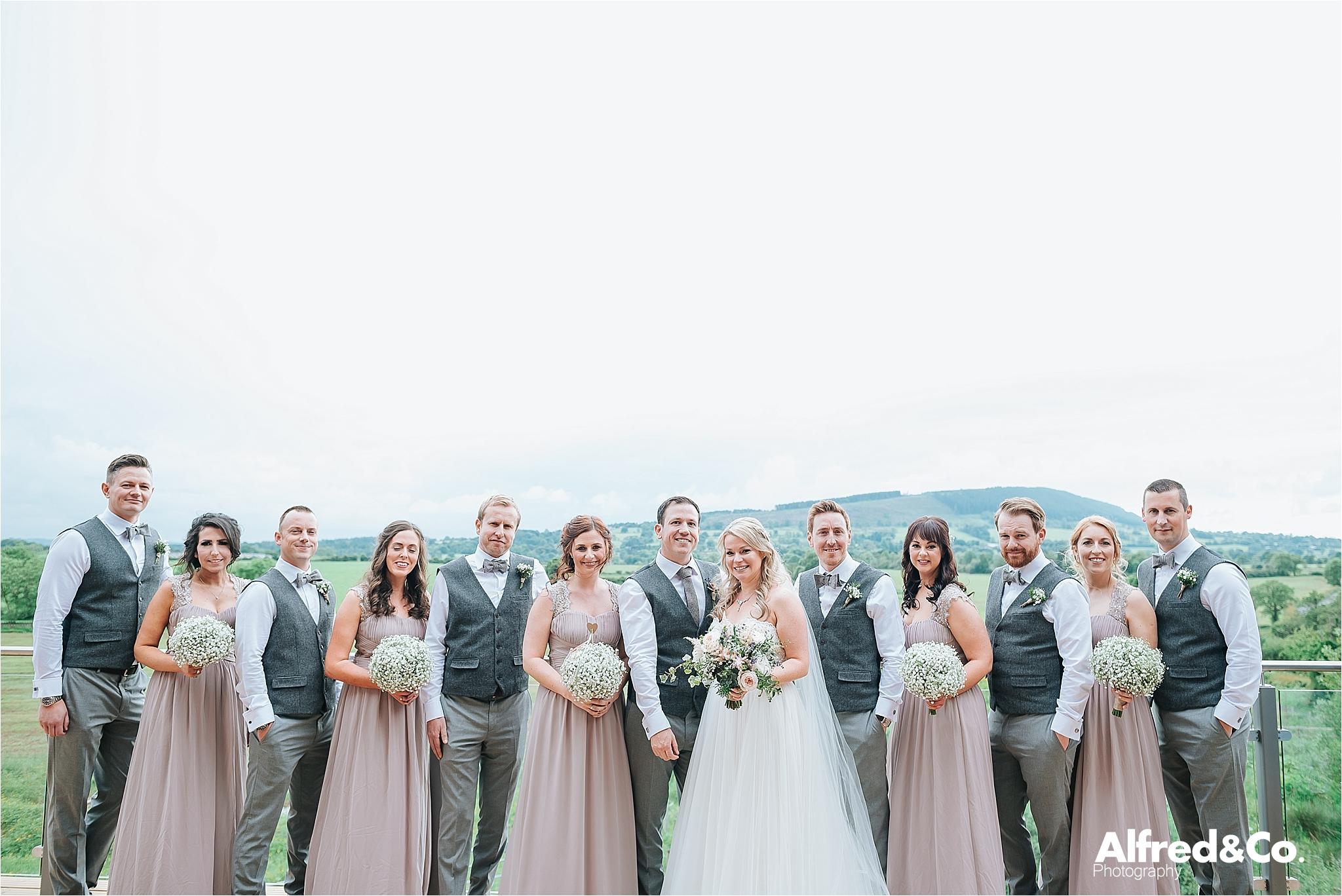 bashall barn wedding photographer, lancashire