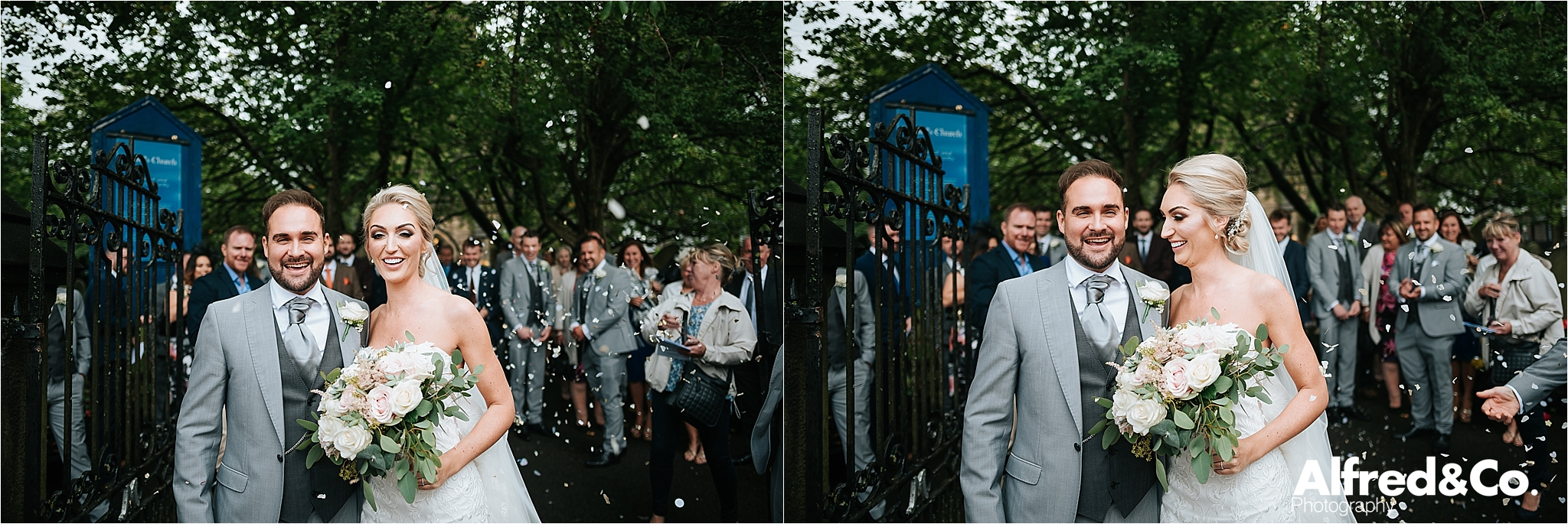 St Paul's Bolton, Lancashire, Wedding