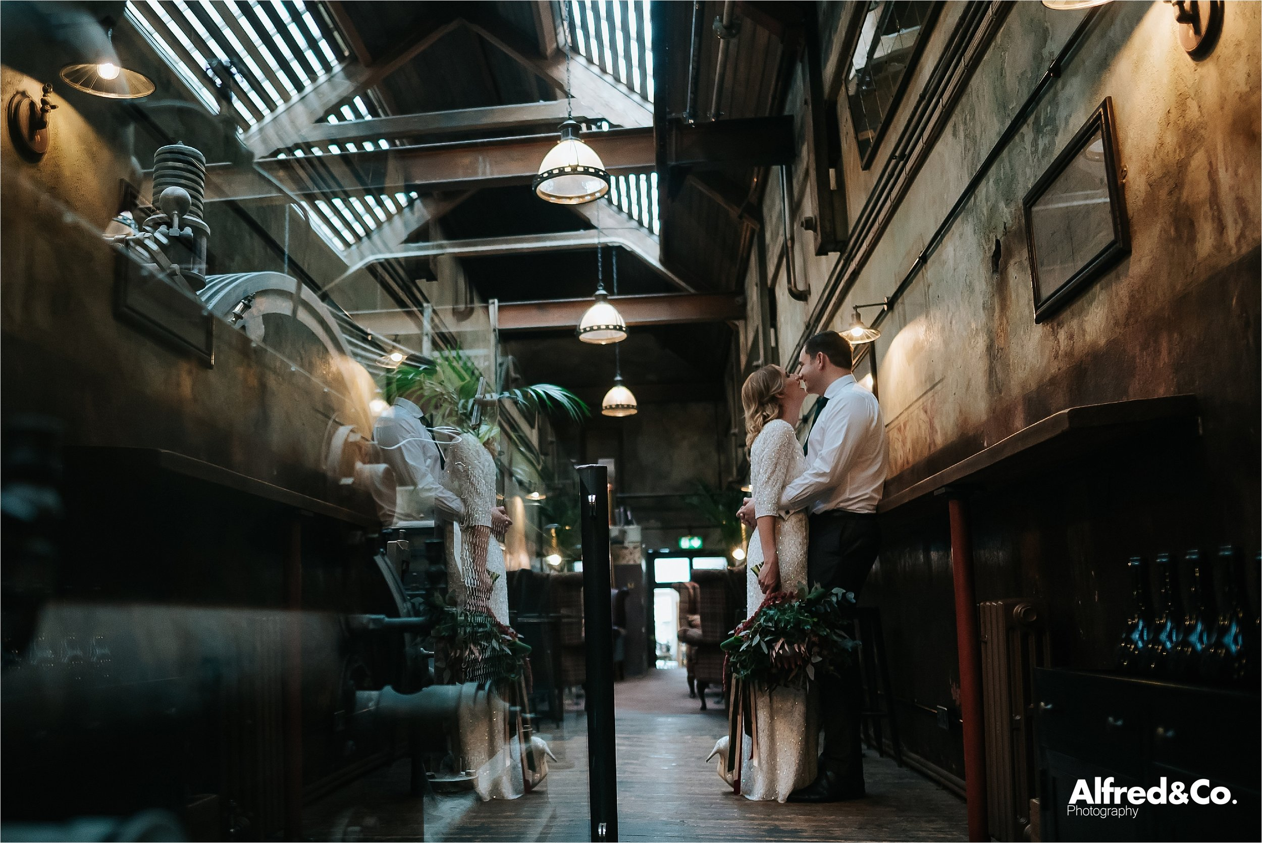 the engine room at homes mill
