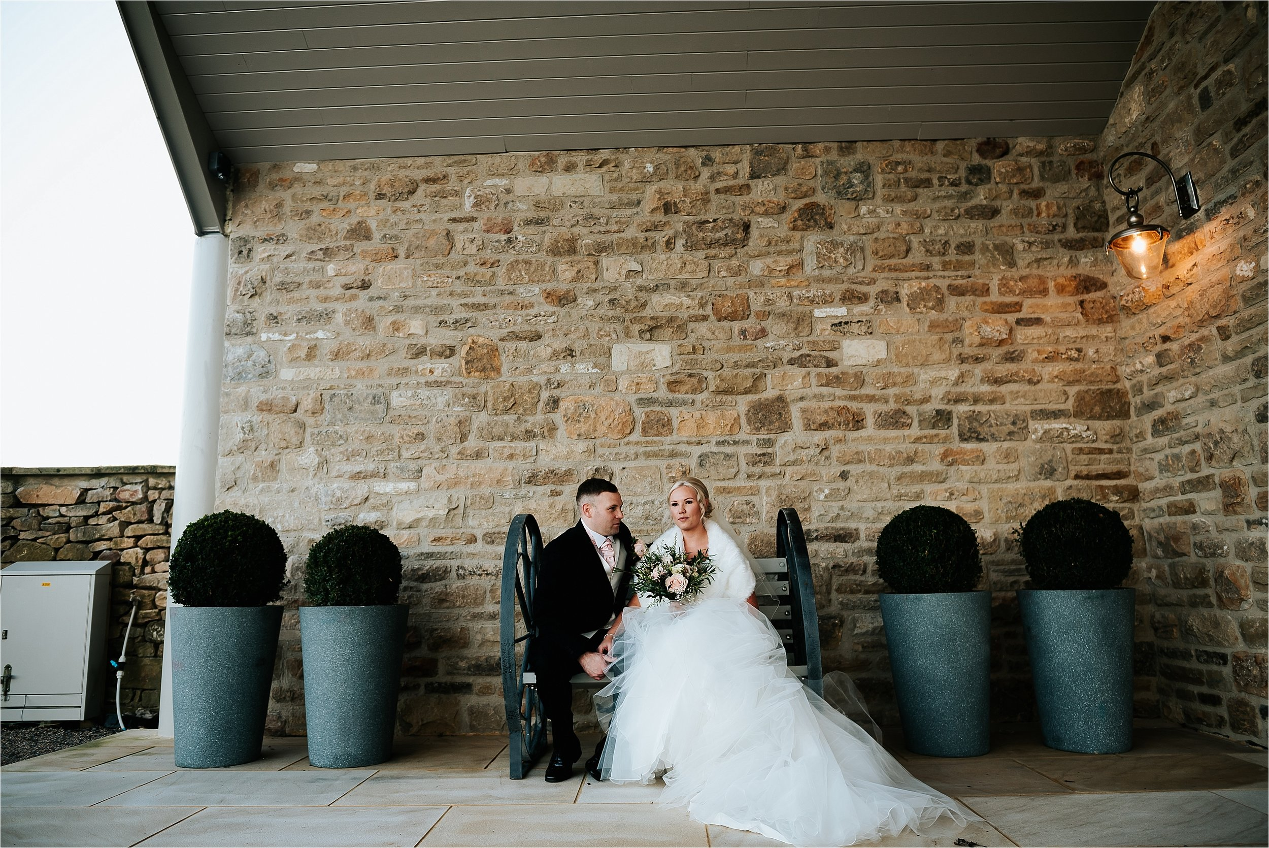 bridal portraits at wedding
