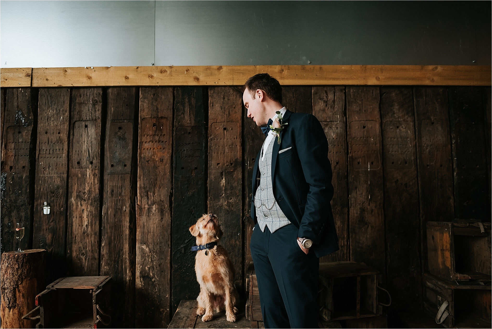 relaxed cheshire wedding photographer
