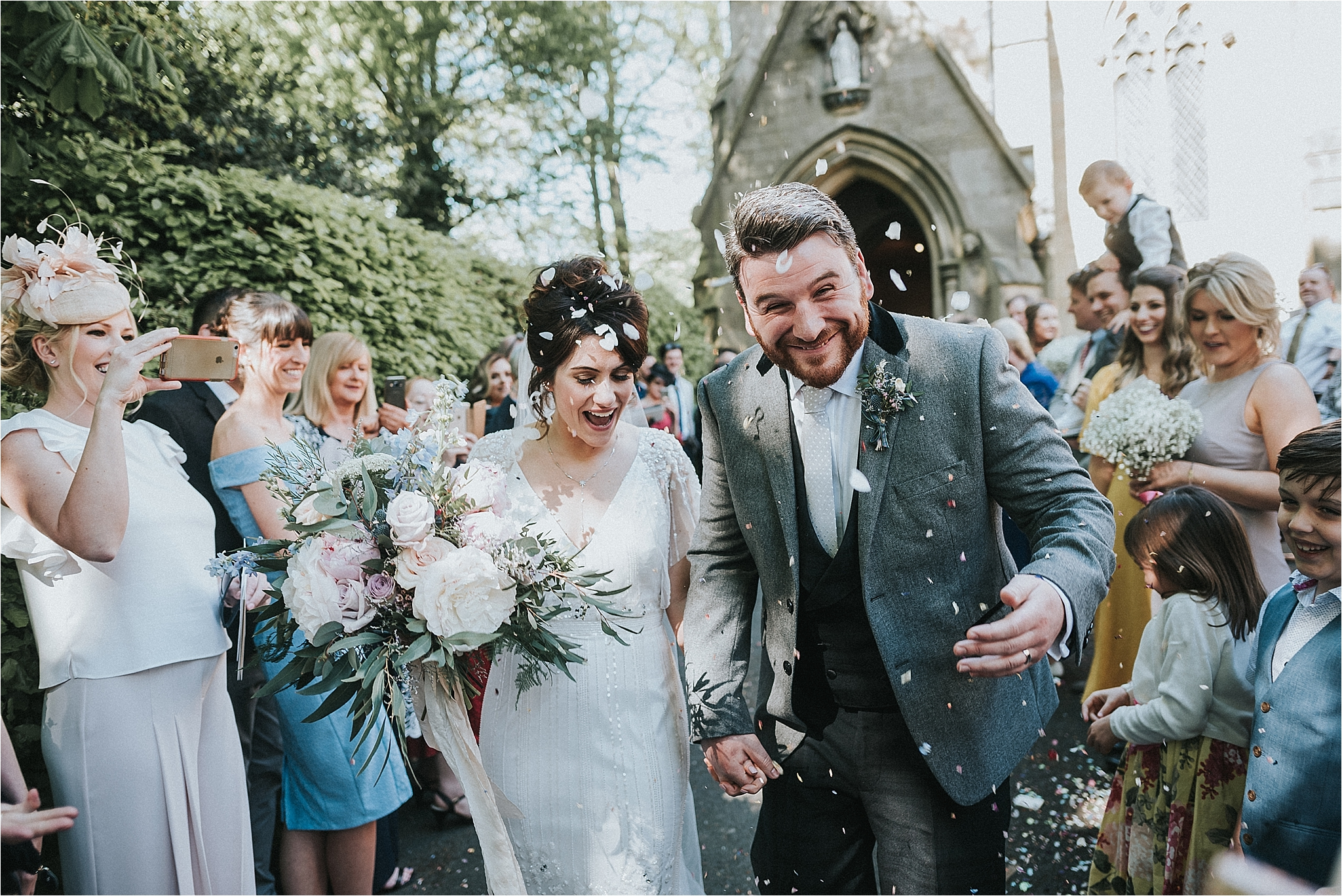 boho wedding in lancashire