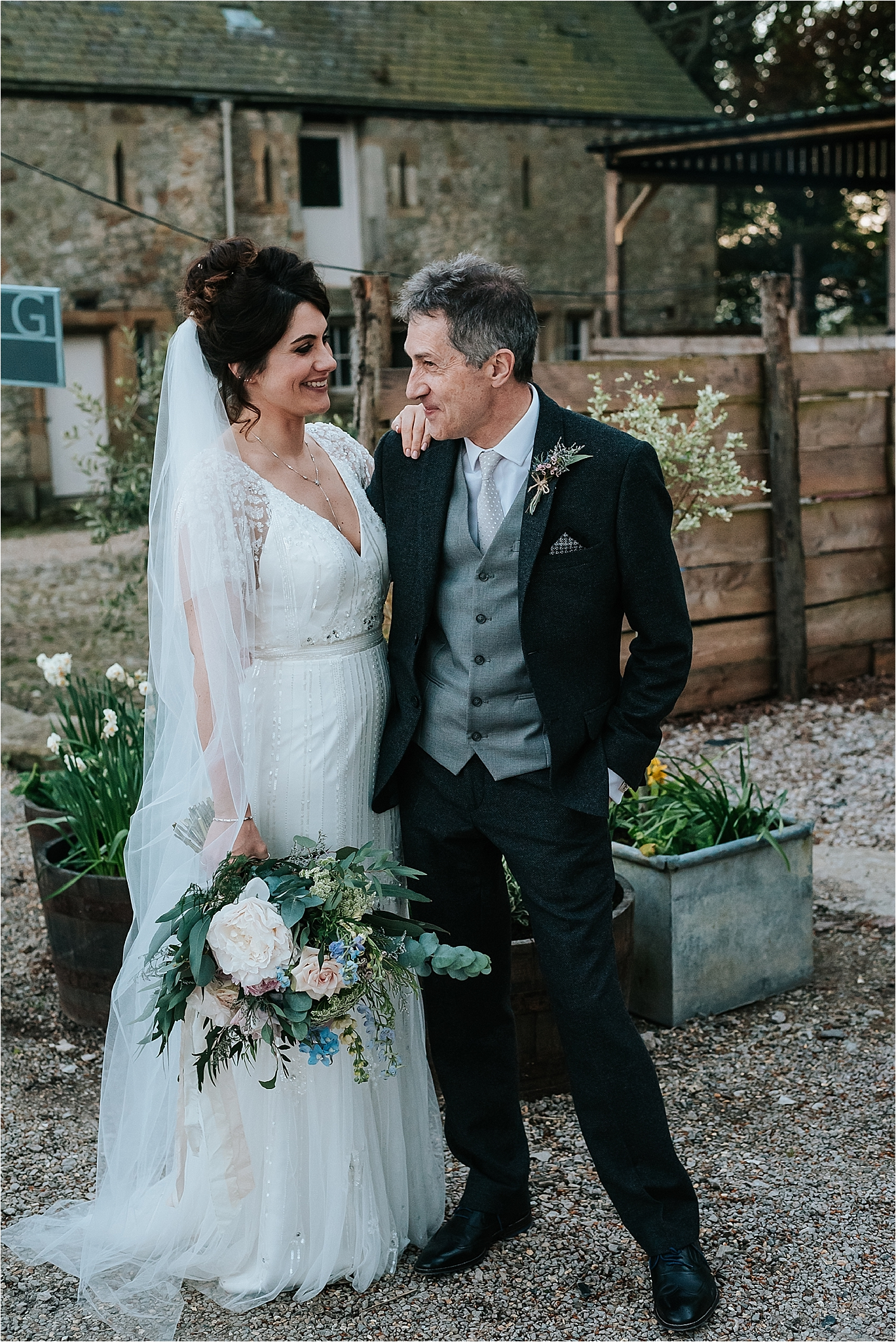 beautiful boho wedding at wyresdale park