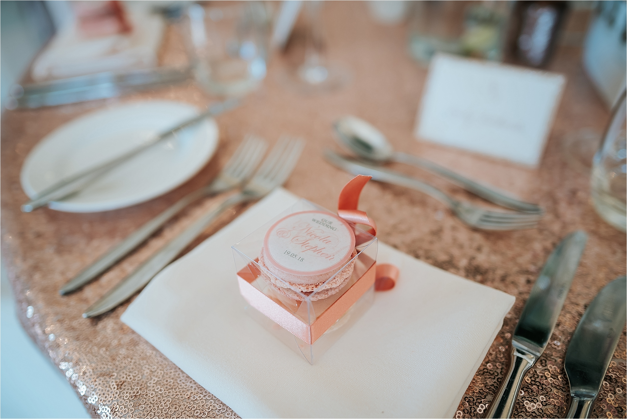 table favours at west tower