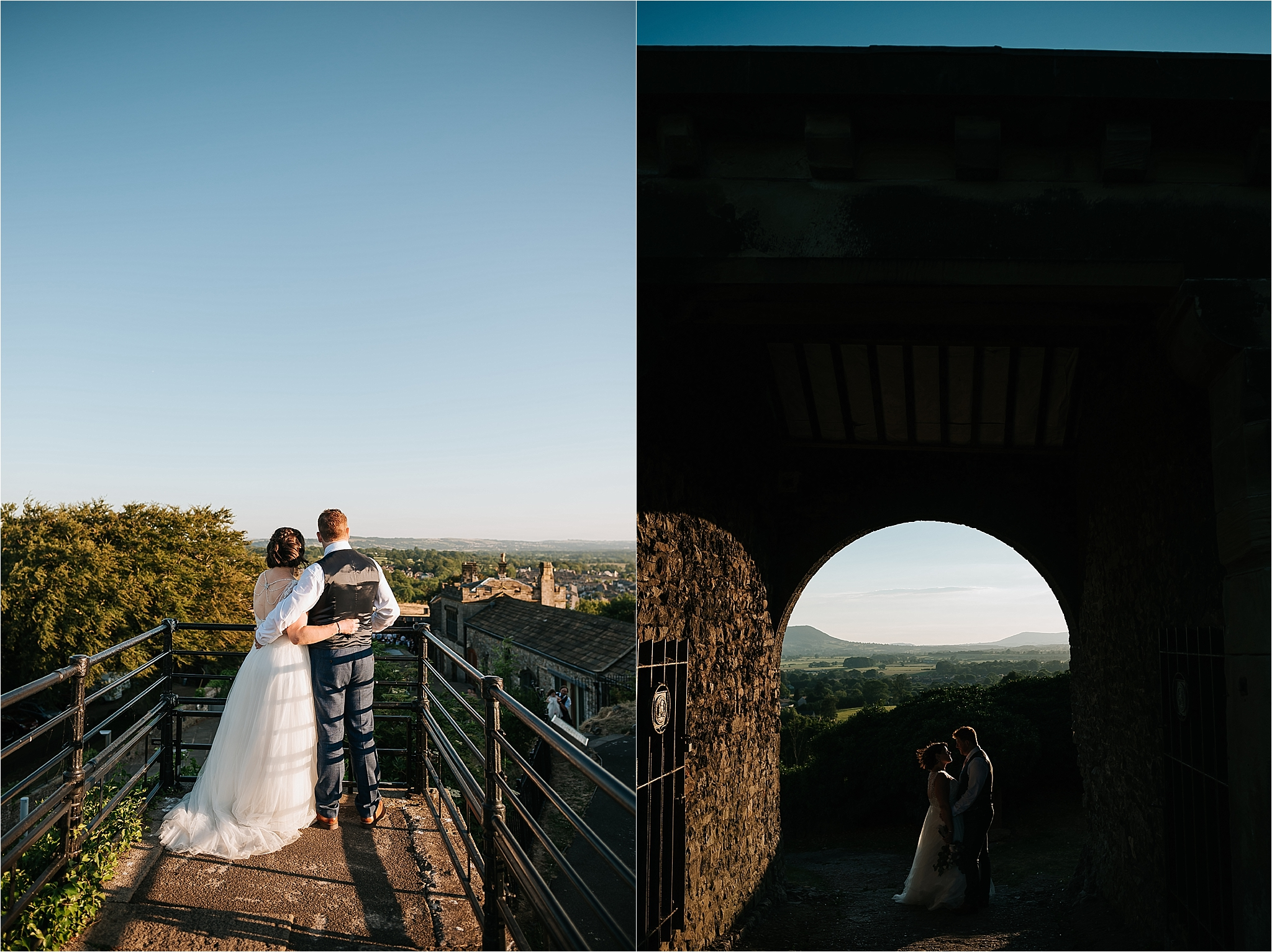 Wedding at clitheroe castle