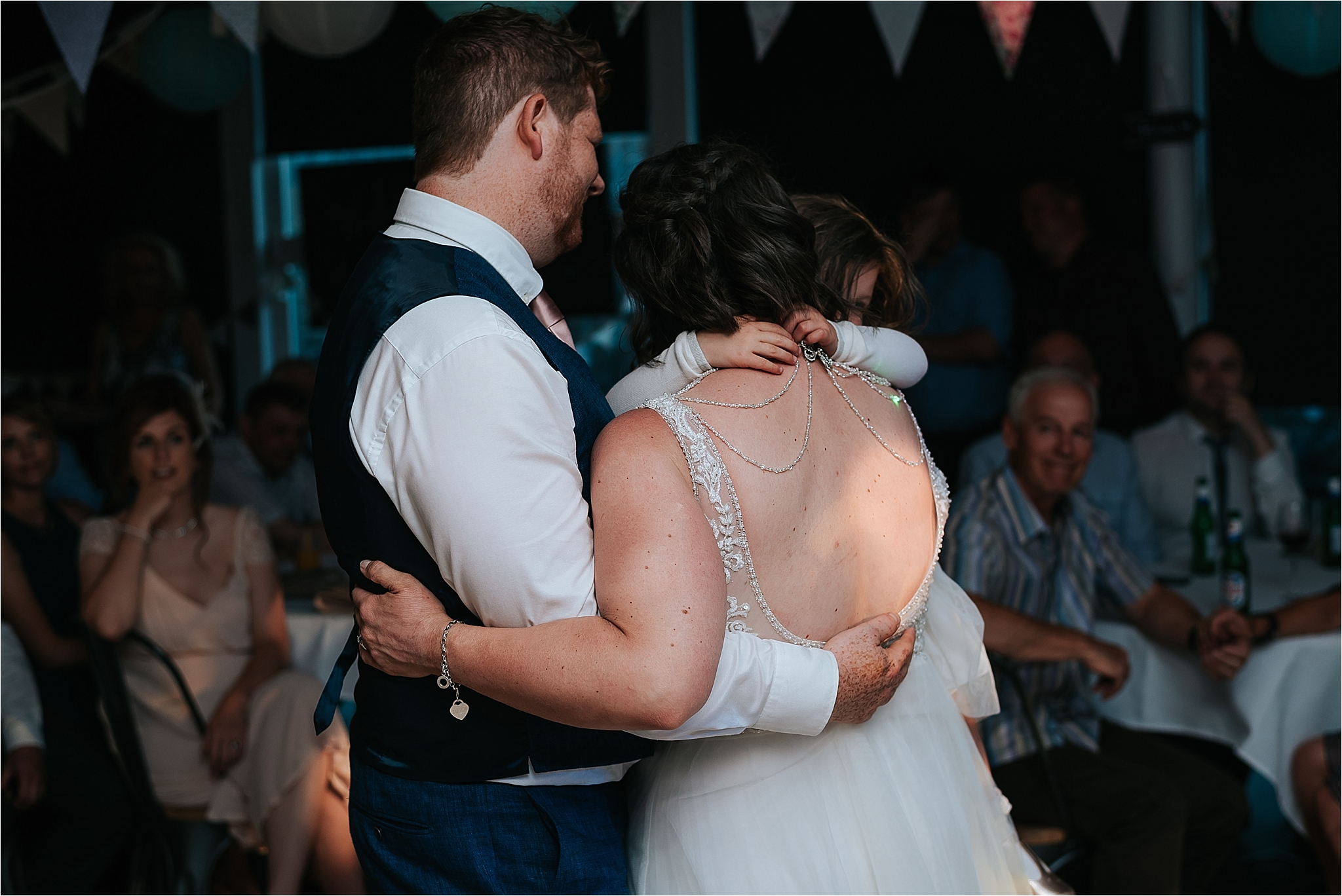 Bride and groom enjoy first dance at the atrium, clitheroe