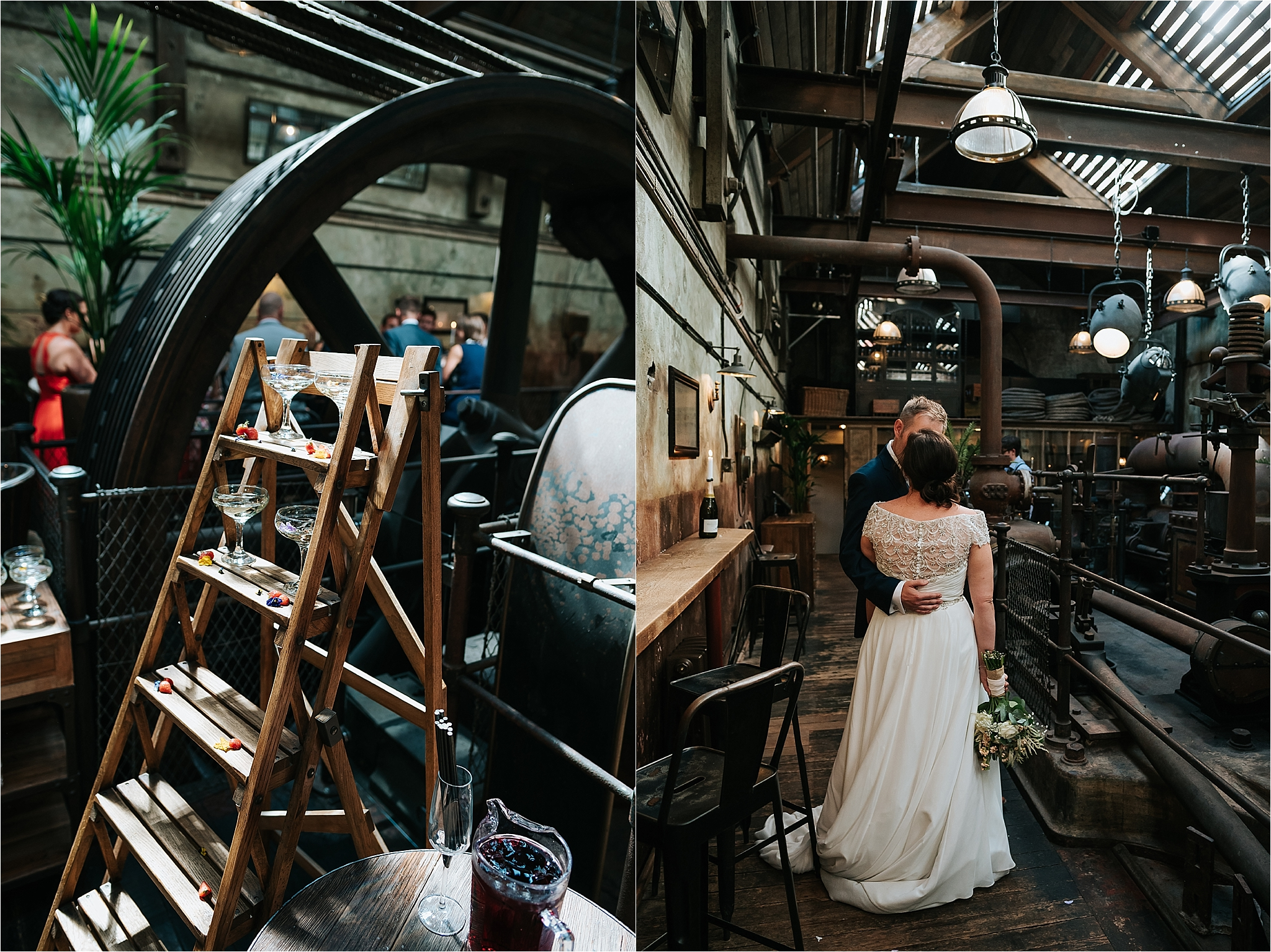 Engine Room at Holmes Mill for a wedding